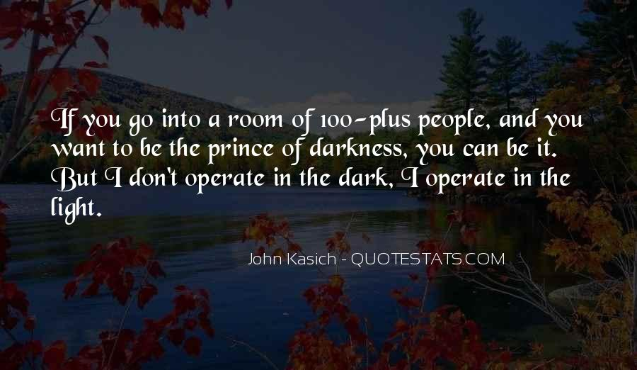 Quotes About Dark Prince #671120