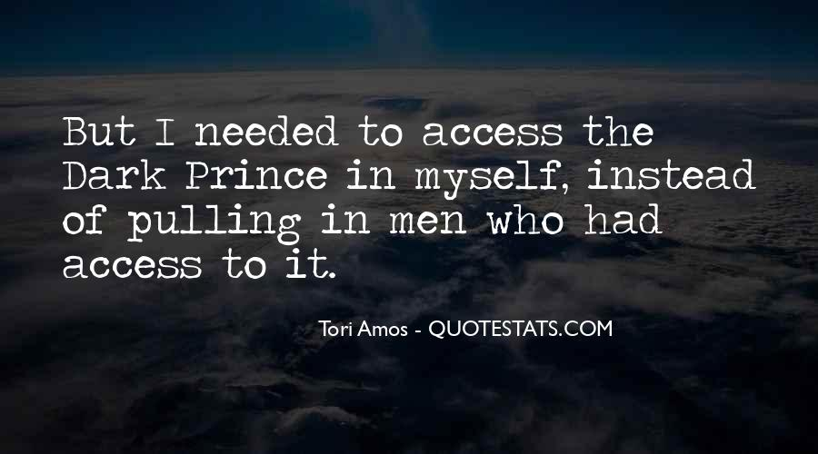 Quotes About Dark Prince #704146