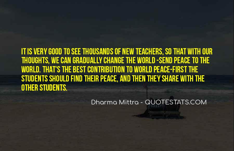 Quotes About Teacher Their Students #1138667