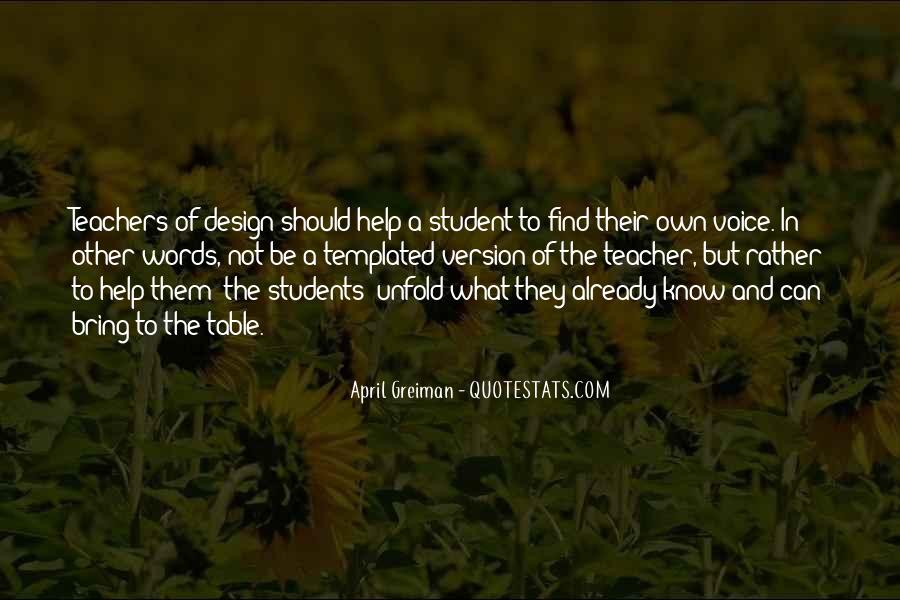 Quotes About Teacher Their Students #1194594