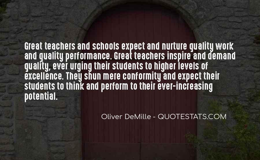 Quotes About Teacher Their Students #1363978