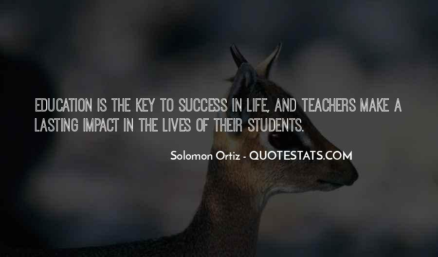 Quotes About Teacher Their Students #147266