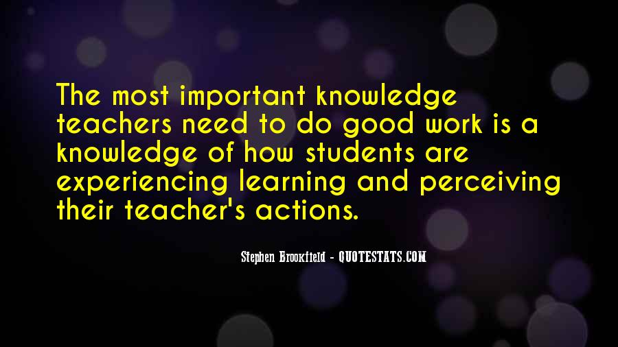 Quotes About Teacher Their Students #1599711