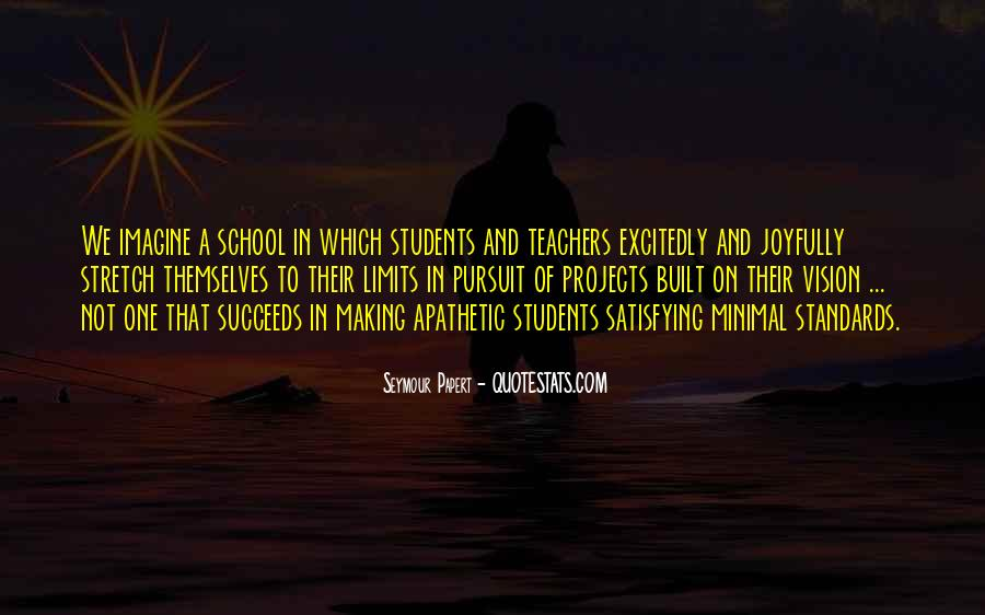 Quotes About Teacher Their Students #1833721