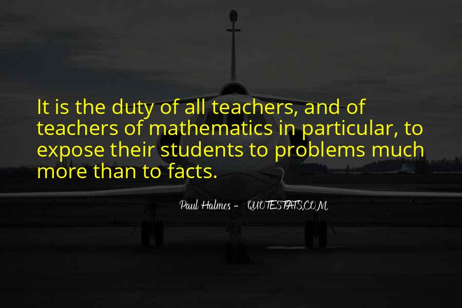 Quotes About Teacher Their Students #398753