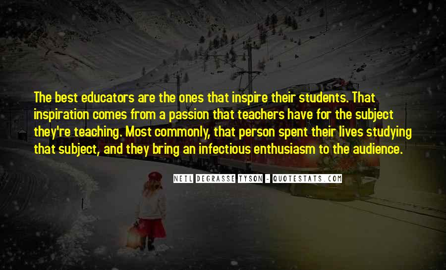 Quotes About Teacher Their Students #528195