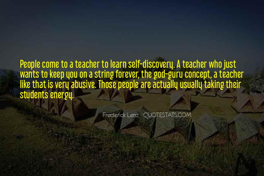 Quotes About Teacher Their Students #652425