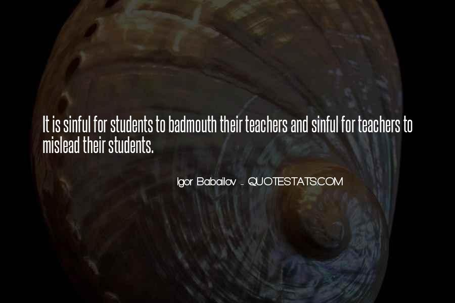 Quotes About Teacher Their Students #901966