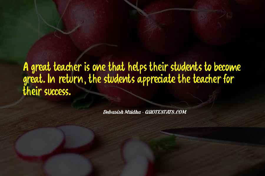 Quotes About Teacher Their Students #934671