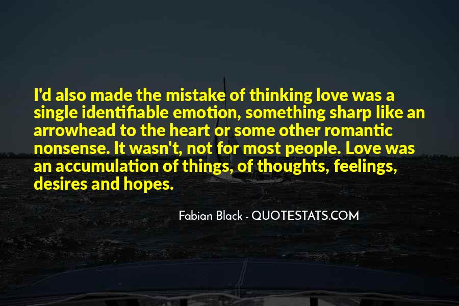 Made Mistake Love Quotes #263410