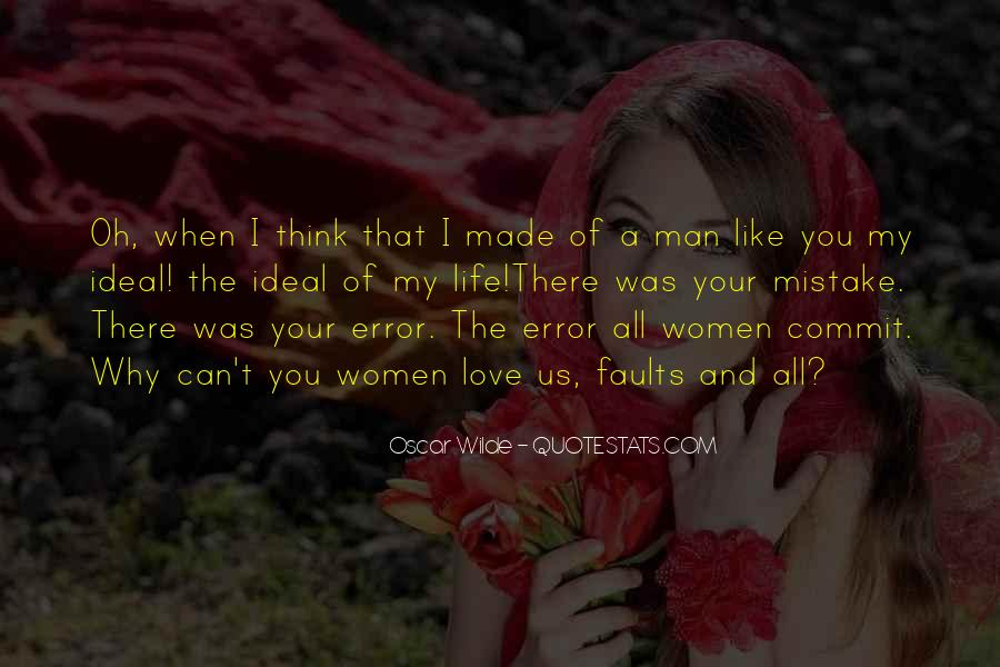 Made Mistake Love Quotes #771942