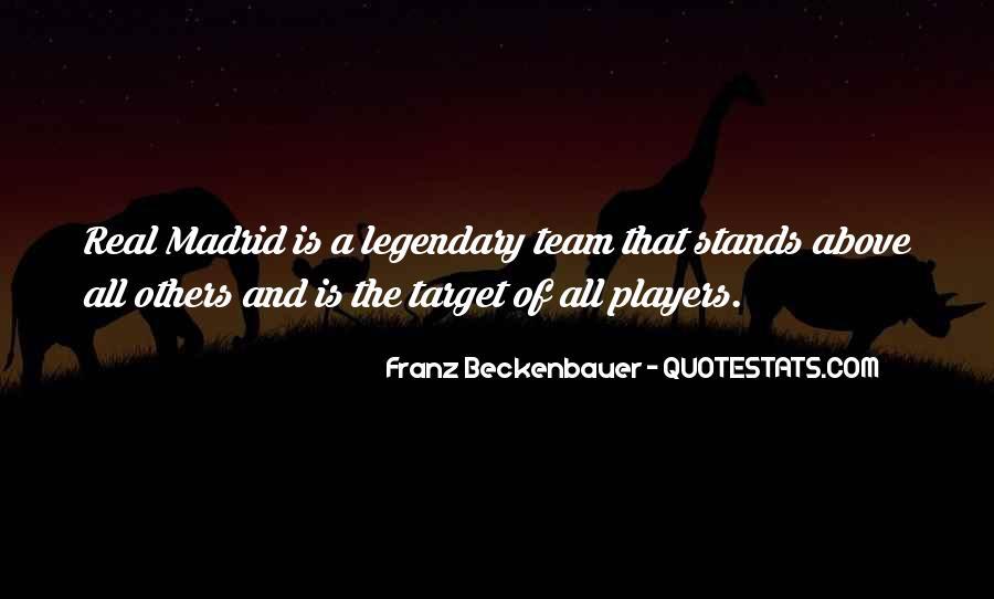 Madrid Team Quotes #1420771