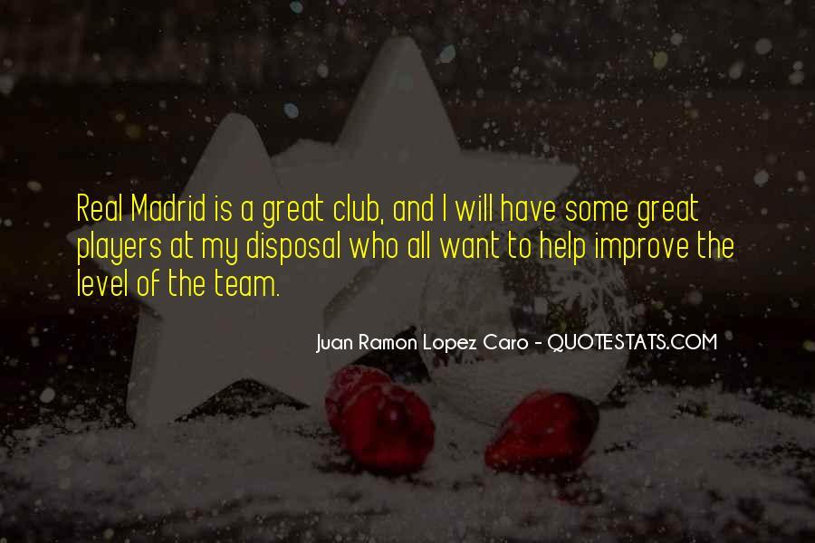 Madrid Team Quotes #495572