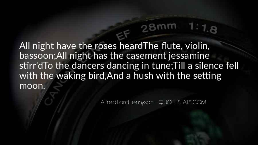 Quotes About Dancing Under The Moon #926924