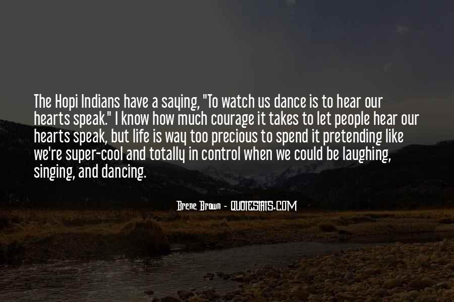 Quotes About Dancing In Life #1106316