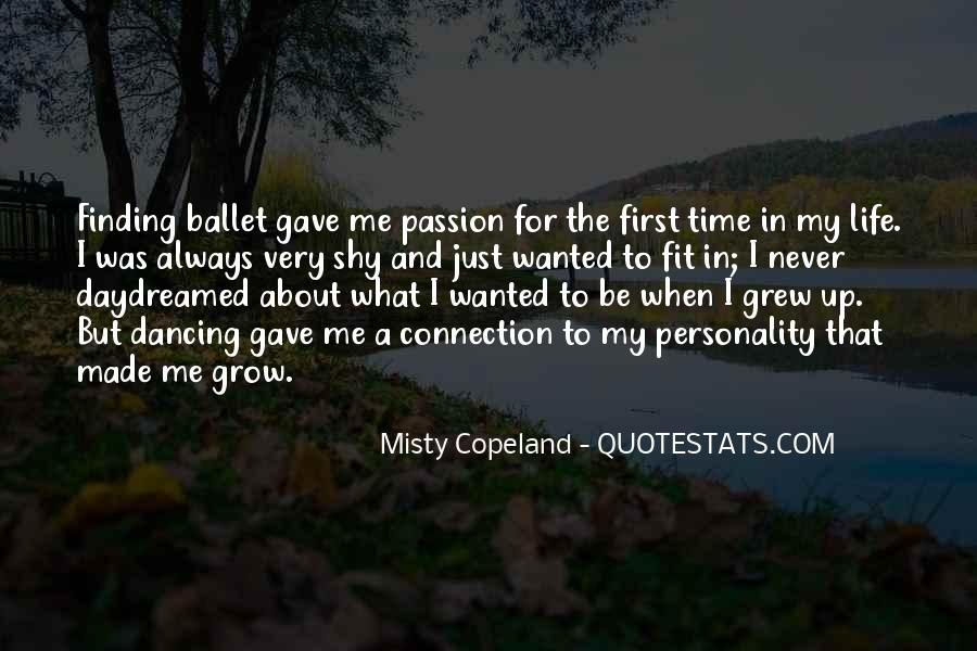 Quotes About Dancing In Life #1132416
