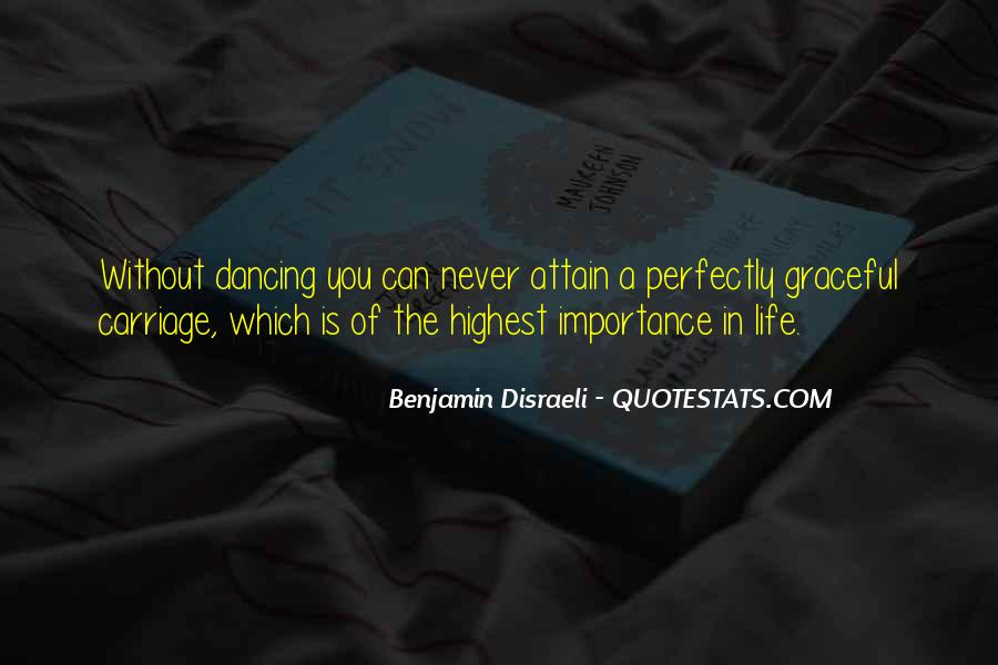 Quotes About Dancing In Life #1553927