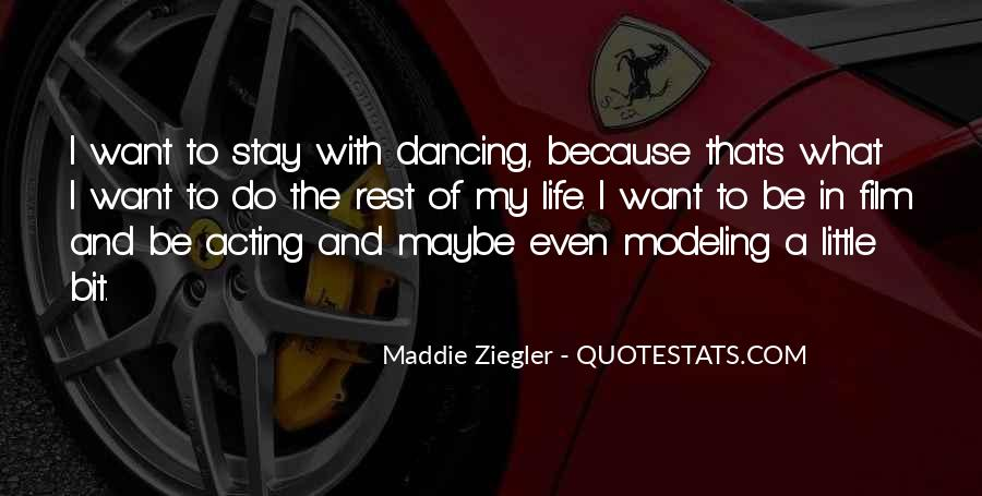Quotes About Dancing In Life #1581814