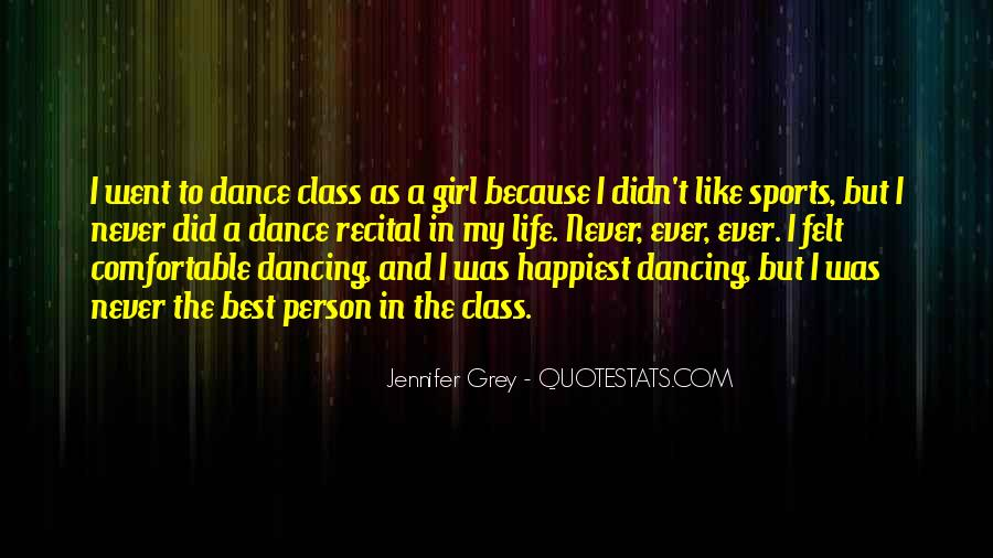 Quotes About Dancing In Life #1690019