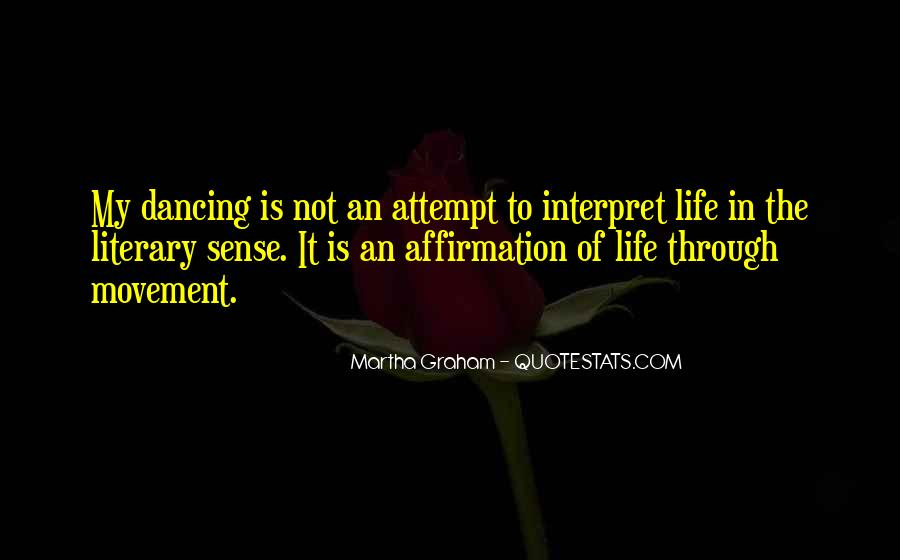Quotes About Dancing In Life #409075