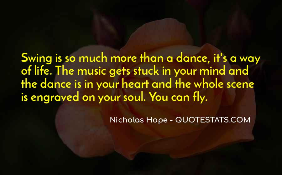Quotes About Dancing In Life #67129