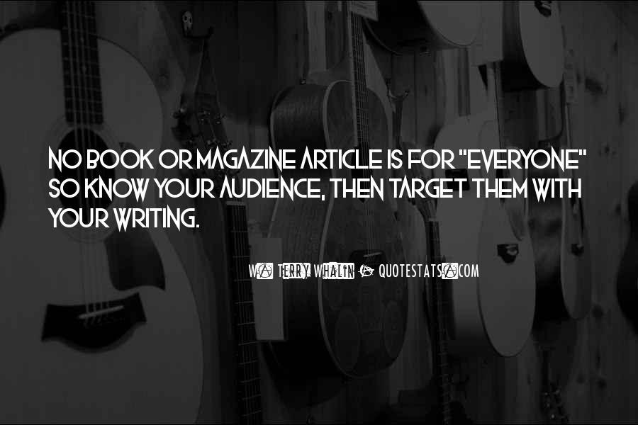 Magazine Publishing Quotes #126209