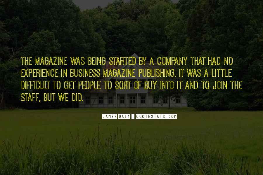 Magazine Publishing Quotes #569392