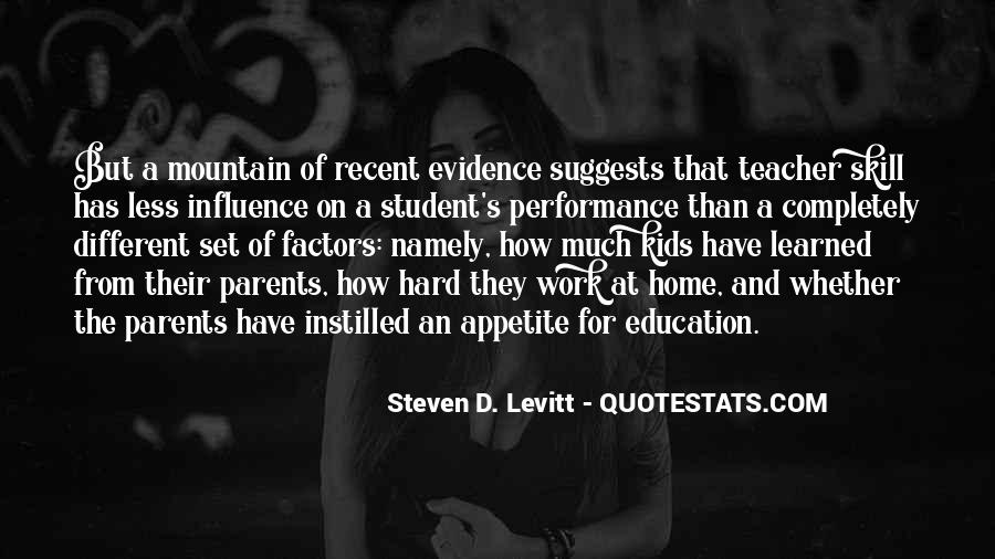 Quotes About Teacher Influence #1513373