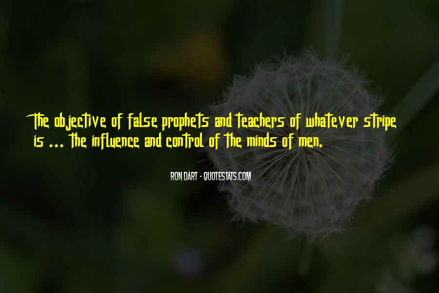 Quotes About Teacher Influence #422810