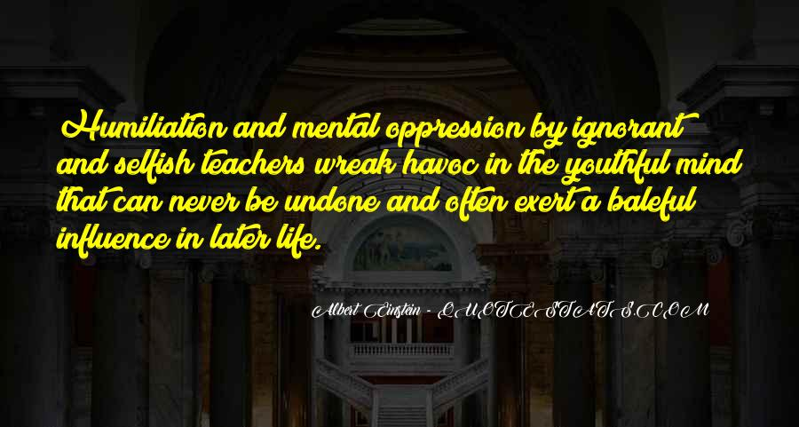 Quotes About Teacher Influence #716462