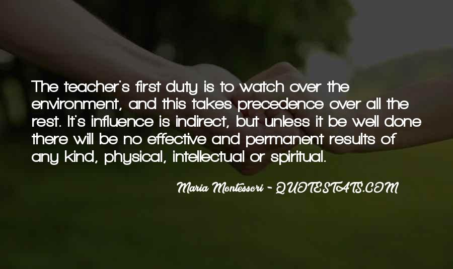 Quotes About Teacher Influence #814791