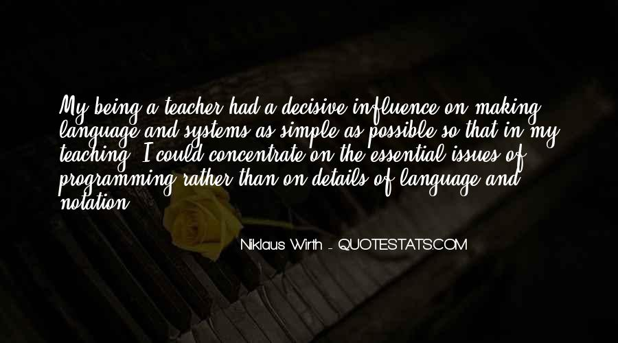 Quotes About Teacher Influence #816883