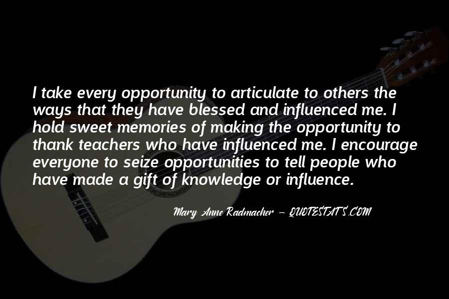 Quotes About Teacher Influence #953641
