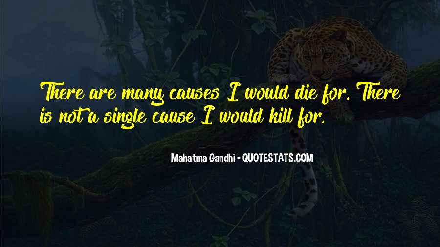 Mahatma Gandhi Nonviolence Quotes #1011262