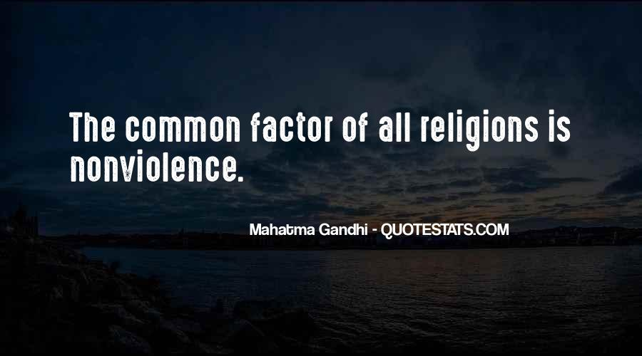 Mahatma Gandhi Nonviolence Quotes #117191