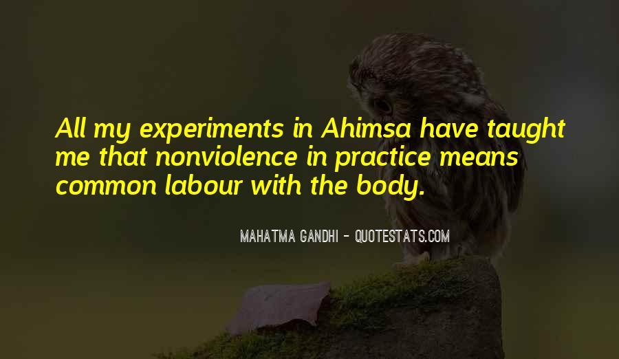 Mahatma Gandhi Nonviolence Quotes #130880