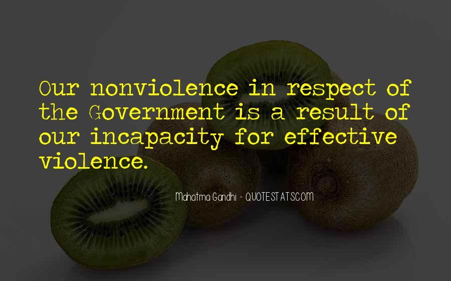 Mahatma Gandhi Nonviolence Quotes #131406