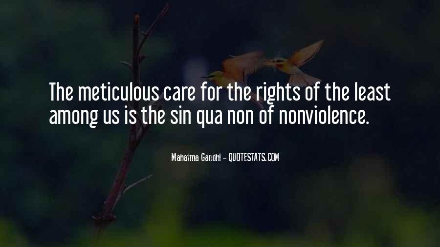 Mahatma Gandhi Nonviolence Quotes #175987