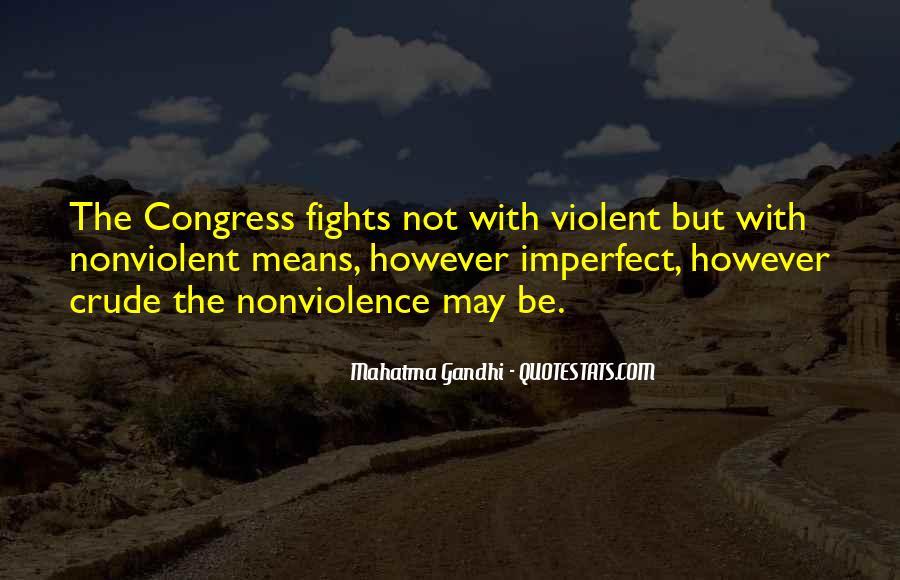 Mahatma Gandhi Nonviolence Quotes #178756