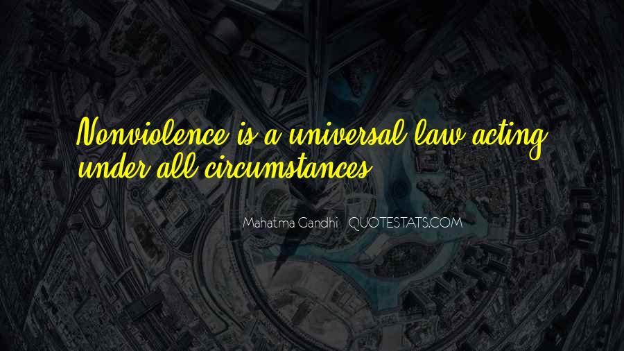 Mahatma Gandhi Nonviolence Quotes #188944