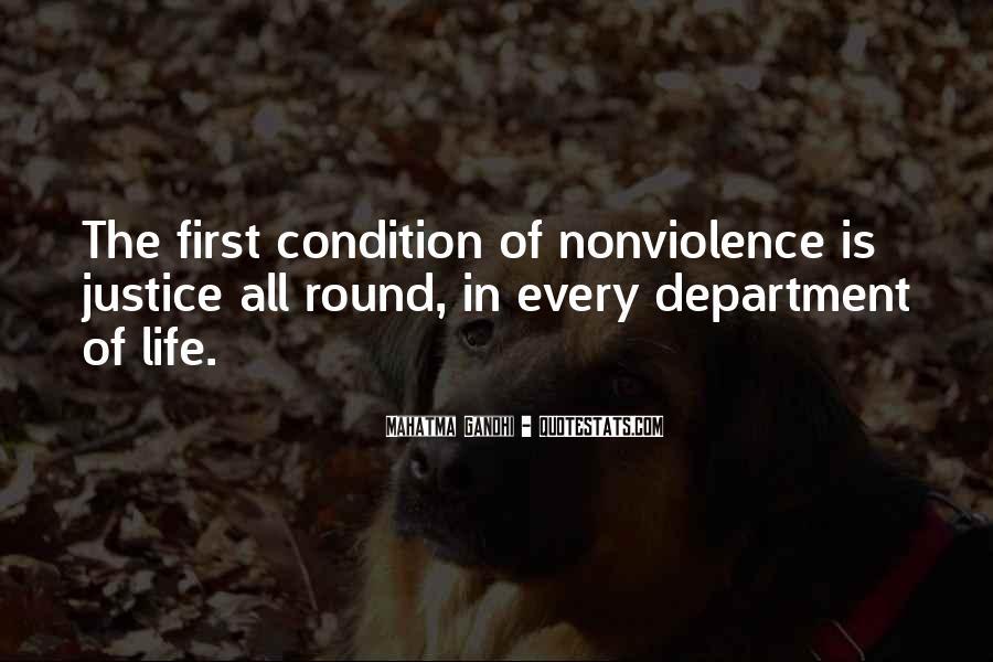 Mahatma Gandhi Nonviolence Quotes #192573
