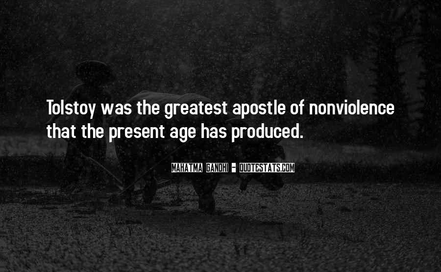 Mahatma Gandhi Nonviolence Quotes #216901