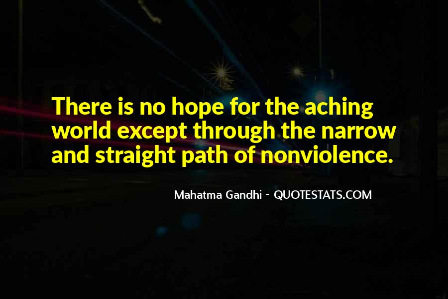 Mahatma Gandhi Nonviolence Quotes #226584