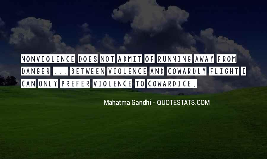 Mahatma Gandhi Nonviolence Quotes #232561