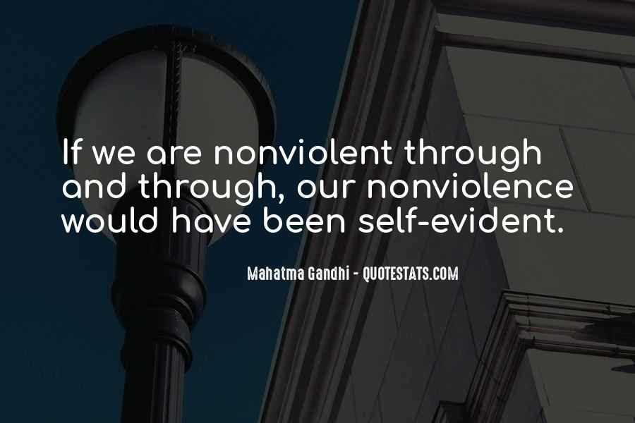 Mahatma Gandhi Nonviolence Quotes #25377