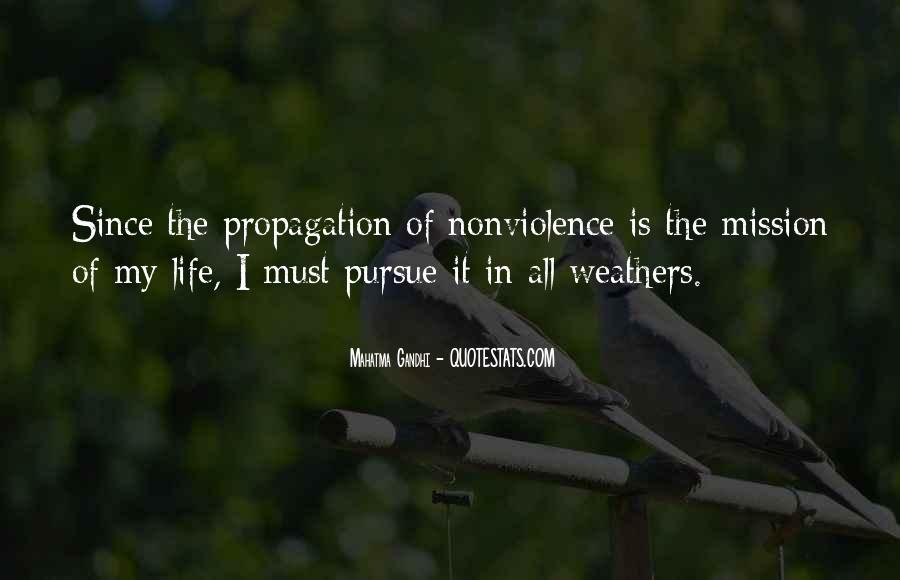 Mahatma Gandhi Nonviolence Quotes #26725
