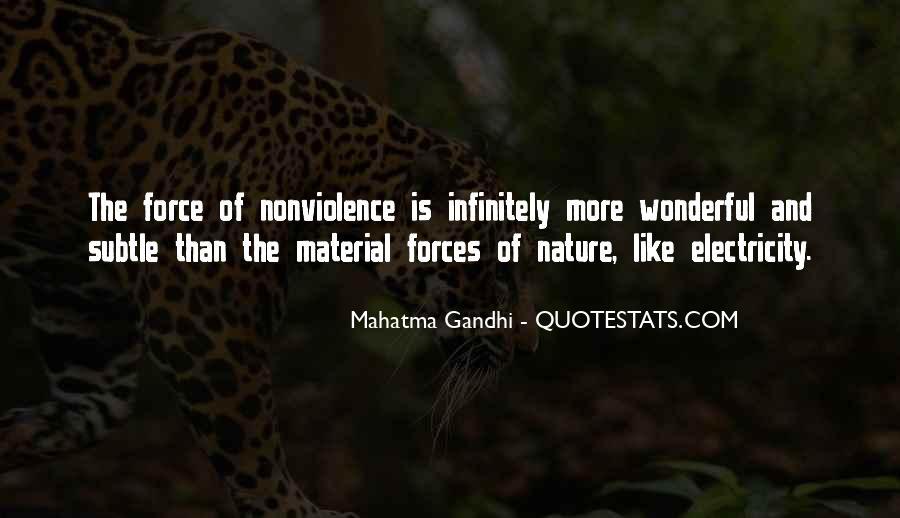 Mahatma Gandhi Nonviolence Quotes #269179