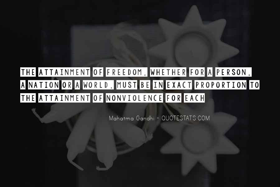 Mahatma Gandhi Nonviolence Quotes #280285