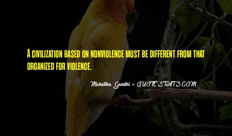 Mahatma Gandhi Nonviolence Quotes #283244