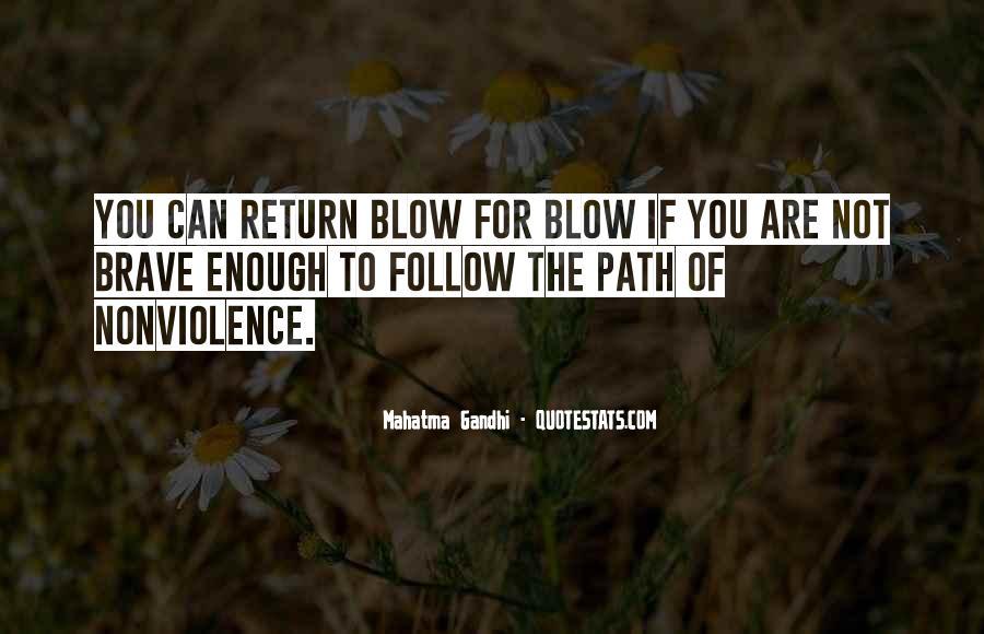 Mahatma Gandhi Nonviolence Quotes #283747